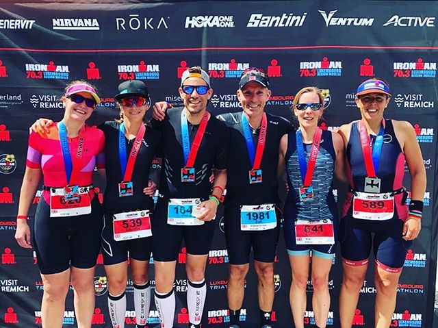 Well done to our Brighton contingent at  Ironman 70.3 Luxembourg today. Some absolutely awesome times by all. Training has really paid off! Congrats guys! #brightontriclub #ironman703luxembourg #britriontour