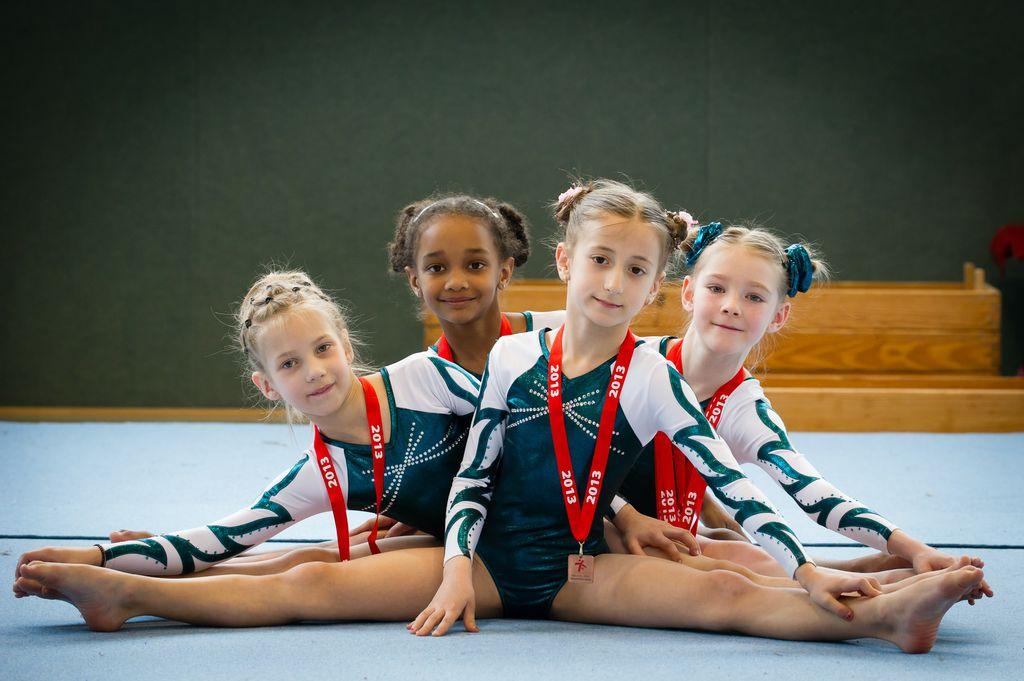 Darija, Seyna, Beyza und Gwendolyn