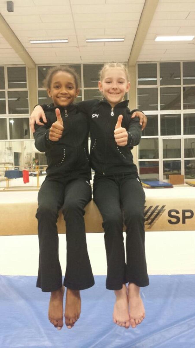 Seyna N`Doye und Gwendolyn Lenz