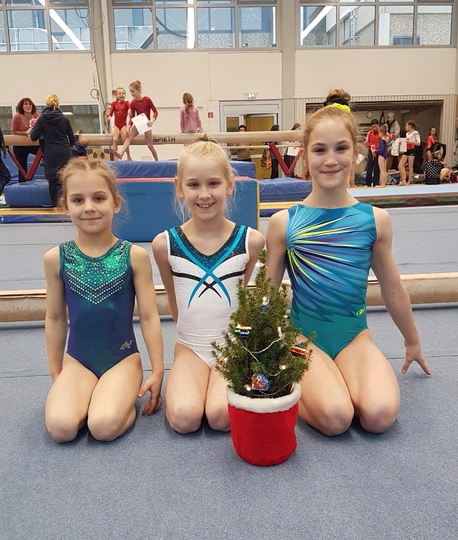 von links nach rechts: Anna Belyakova, Alva Pedersen, Marie-Madeleine Ahr