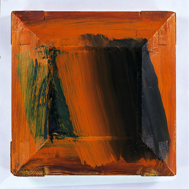 """Silence, Howard Hodgkin, 1997-2004, 18  ¼   x 18  ½"""""""