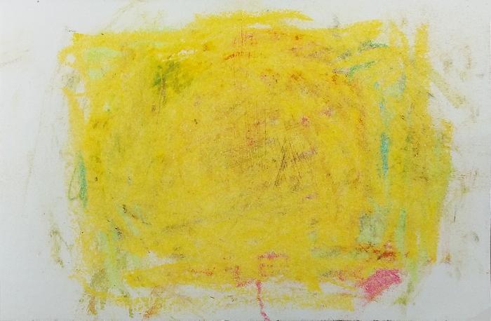 """sketchbook oil pastel 3 x 5"""" 2017"""