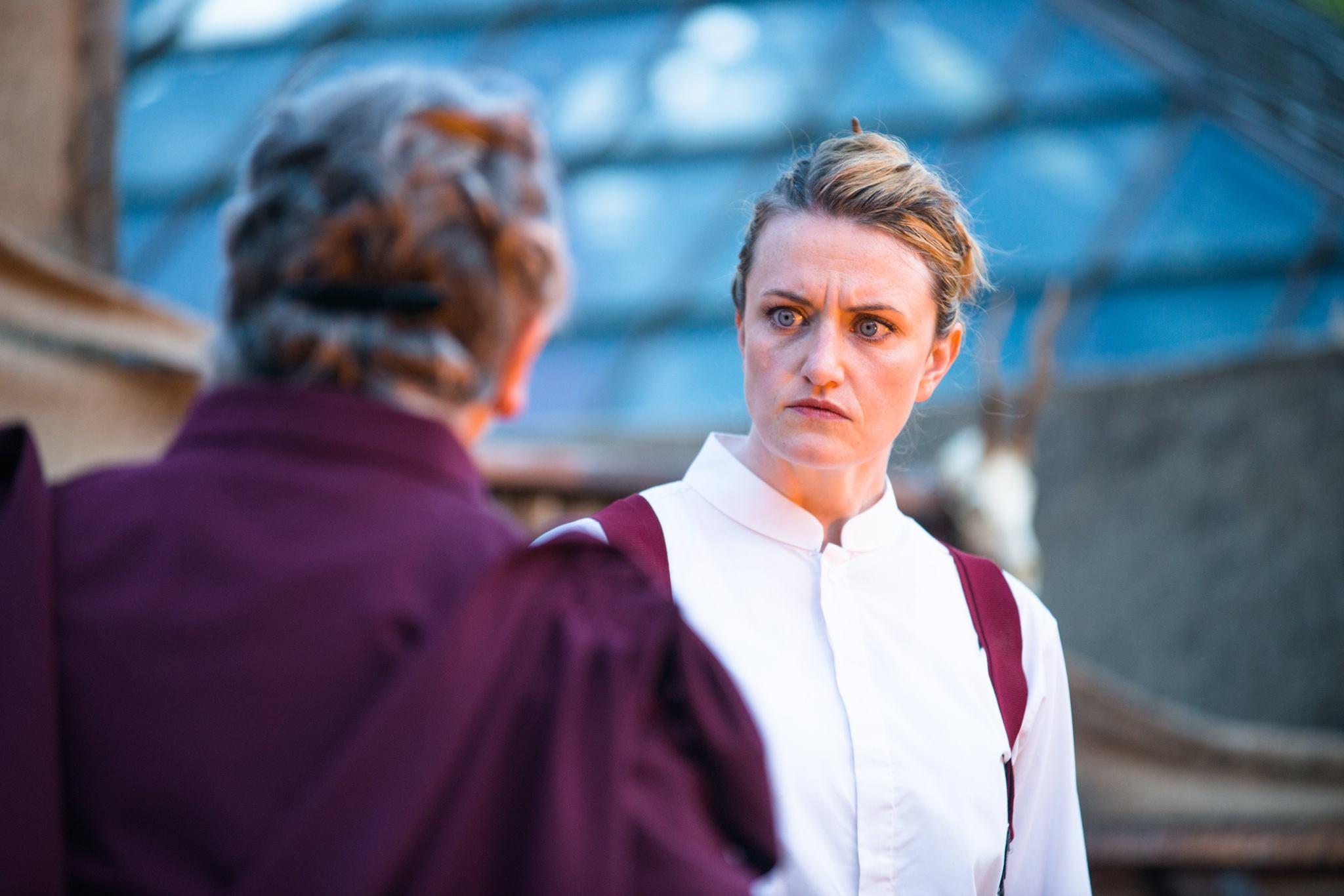 Goneril in  Queen Lear  (photo cred. Tommy Ga-Ken Wan)