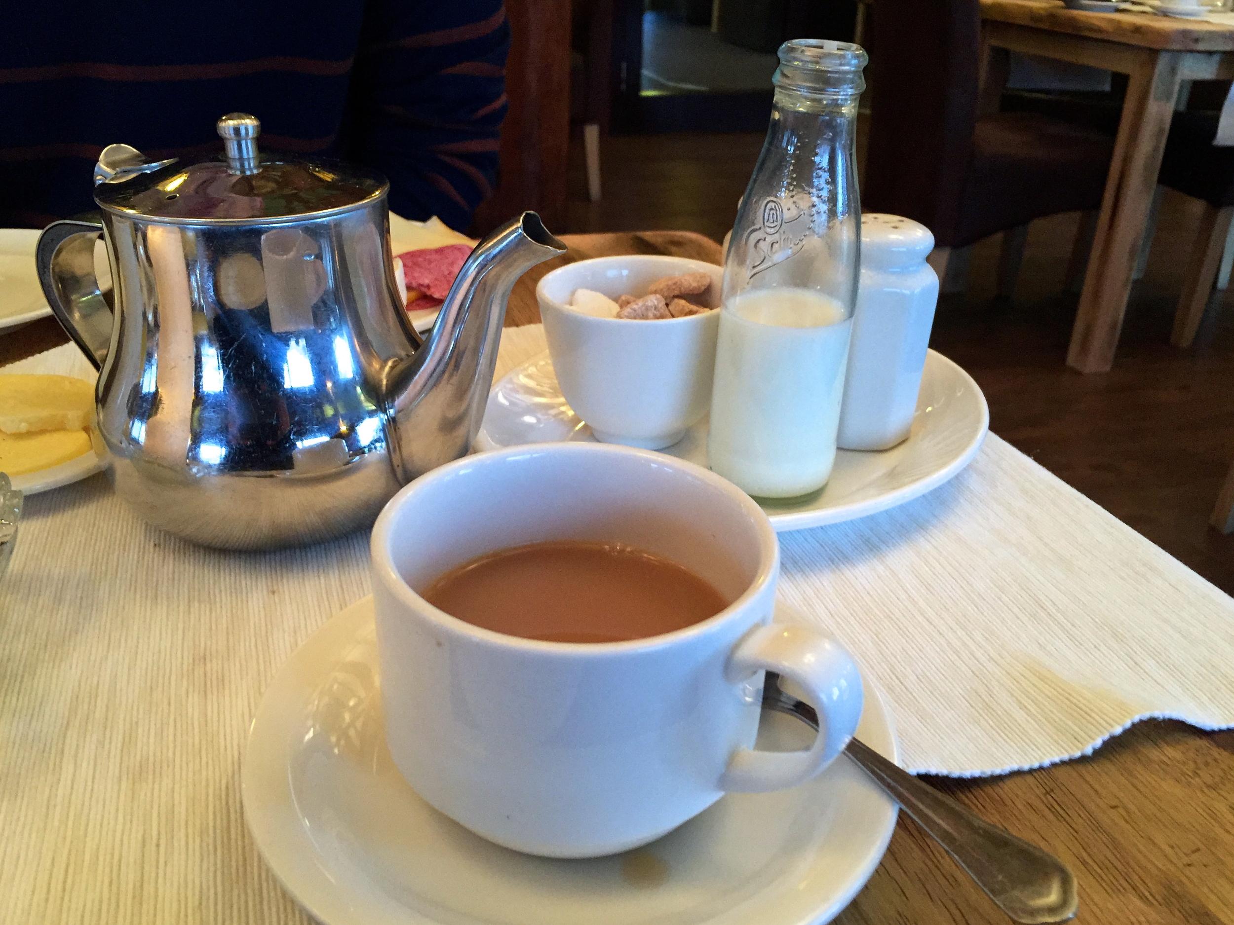 English tea, a major doi