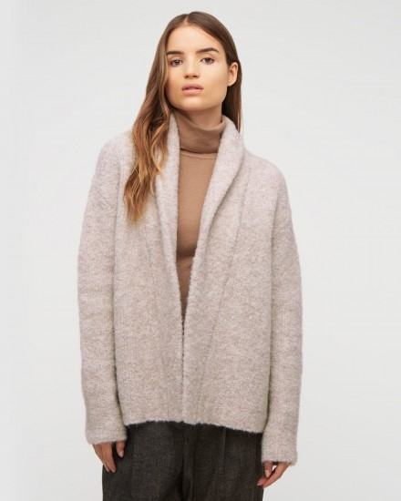 Boucle Knit Cardigan