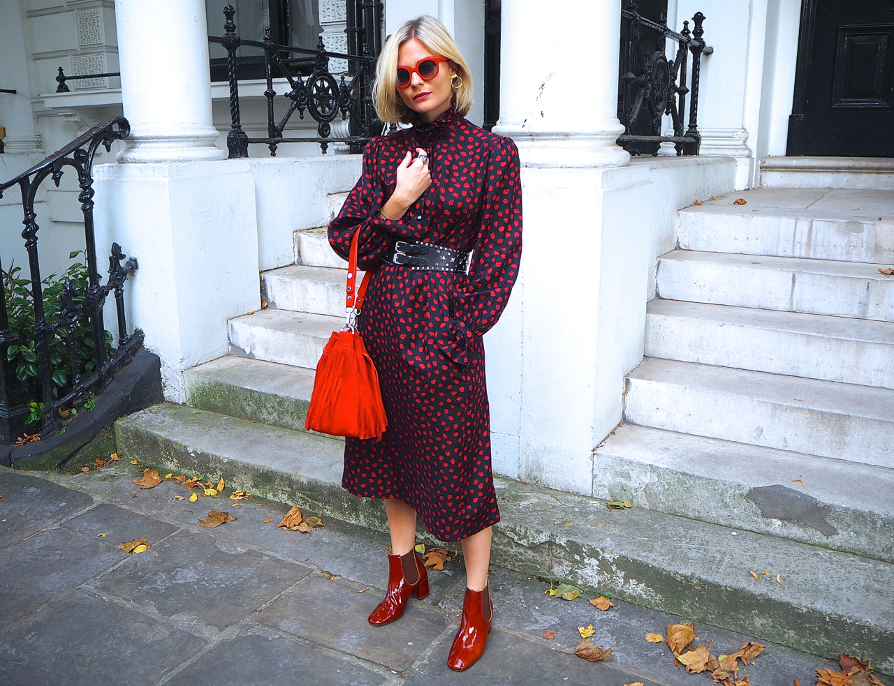 I mean, how rad does  Pandora Sykes  look in her patent leather pair!?