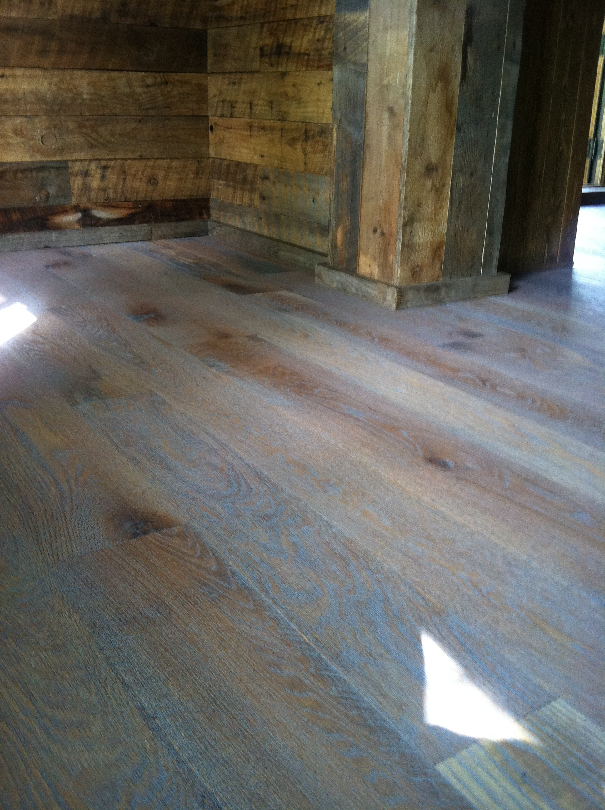 Custom Finished Rustic White Oak