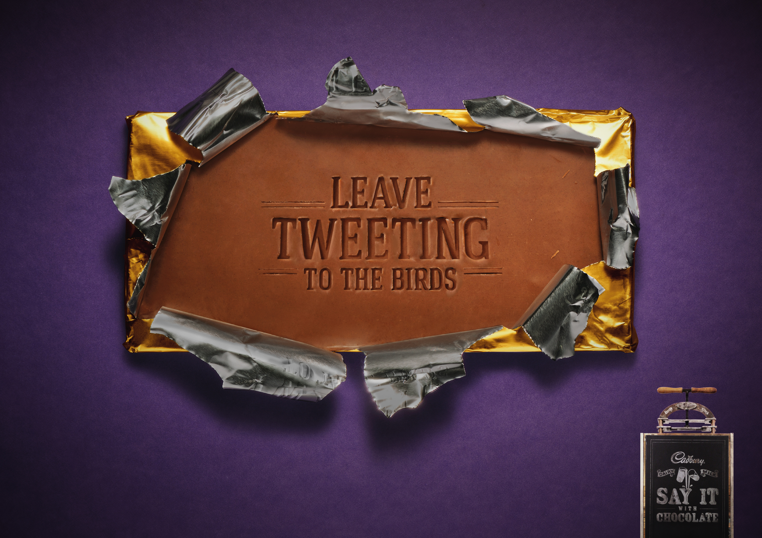 Say It With Chocolate (Poster) 01.jpg
