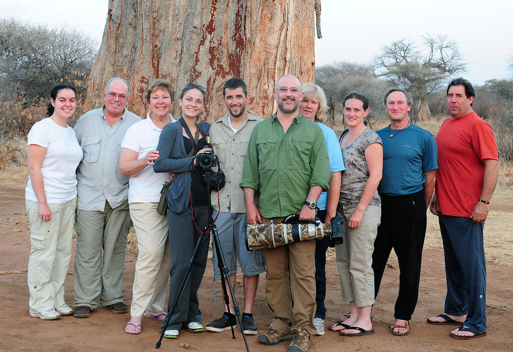 Group shot of our Photo Safari, 2011