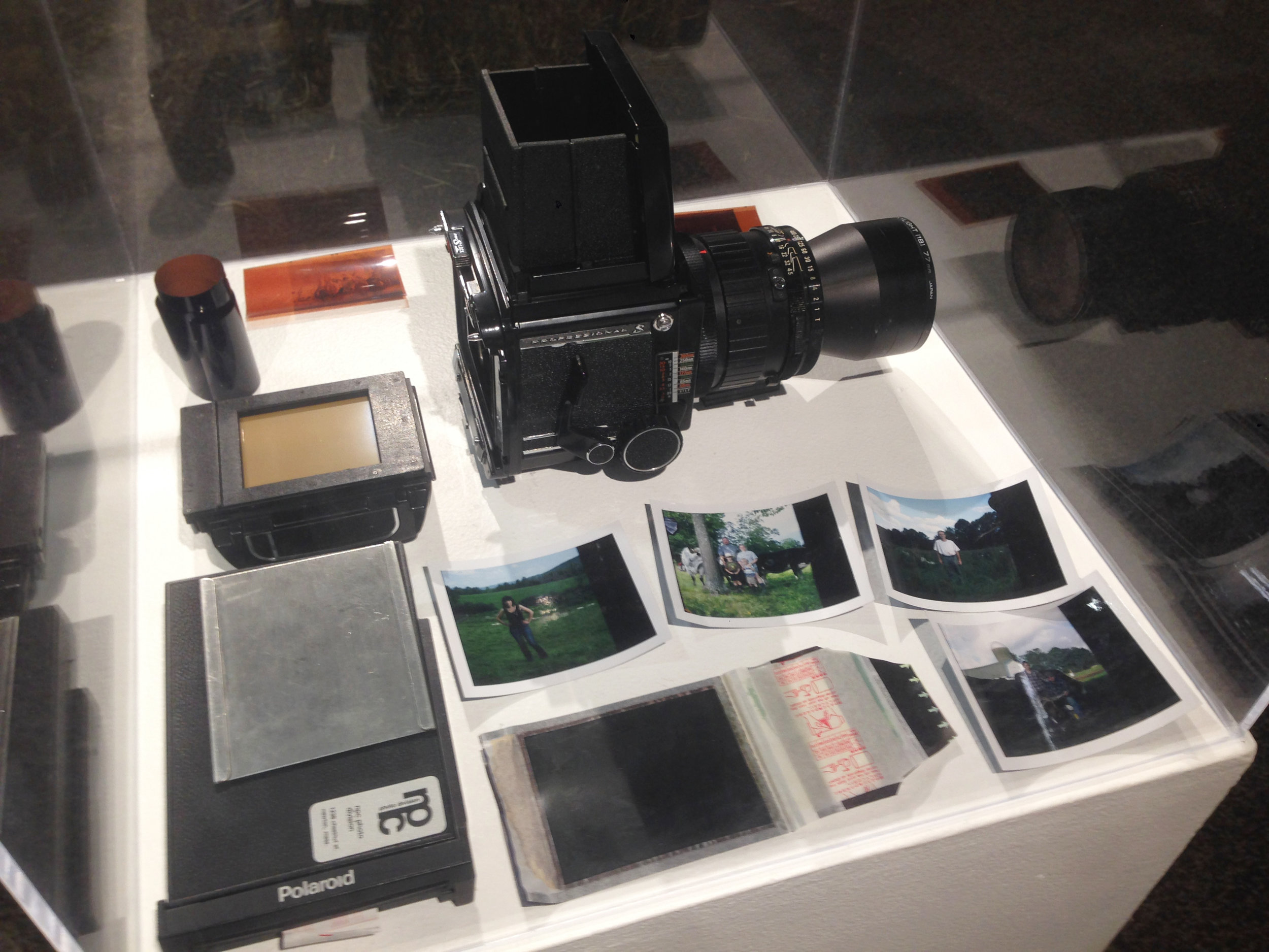 Fujifilm instant film and the Mamiya