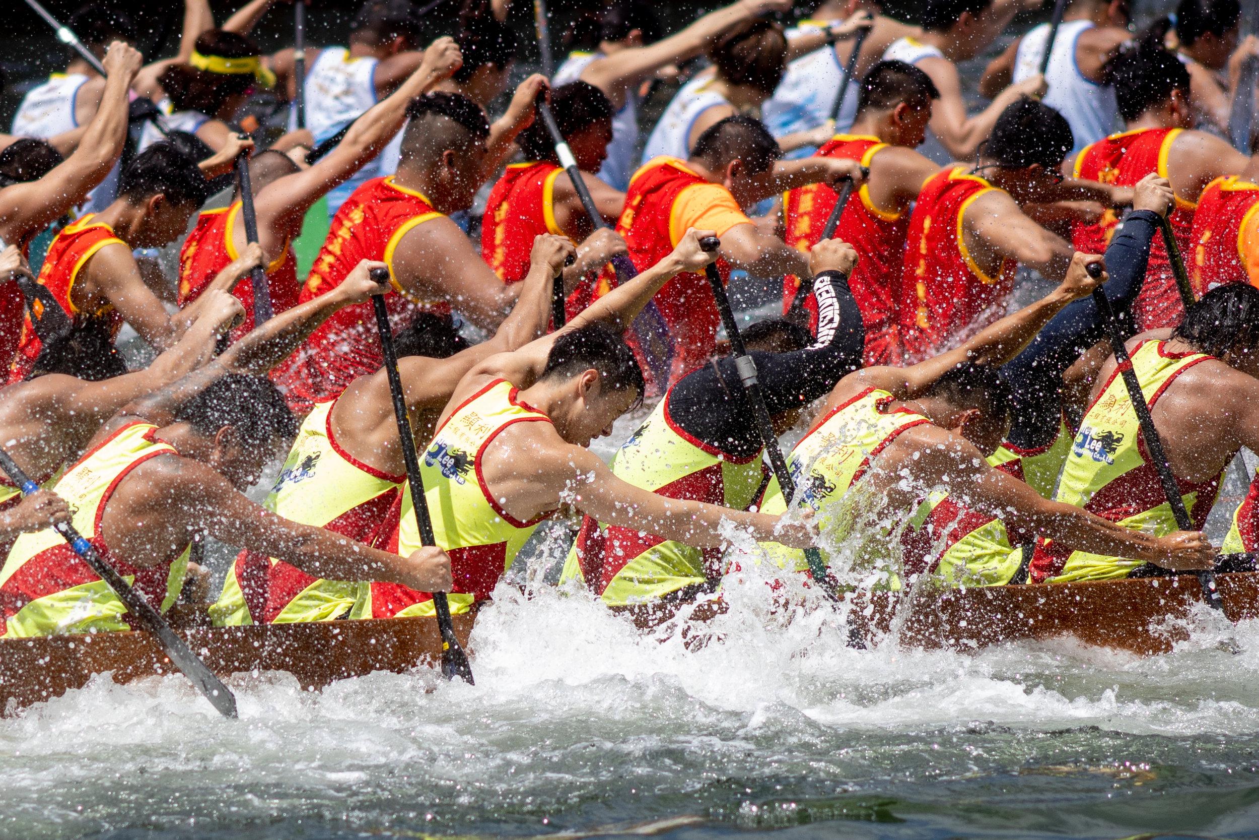 Dragon Boat Festival, Hong Kong, June 2019