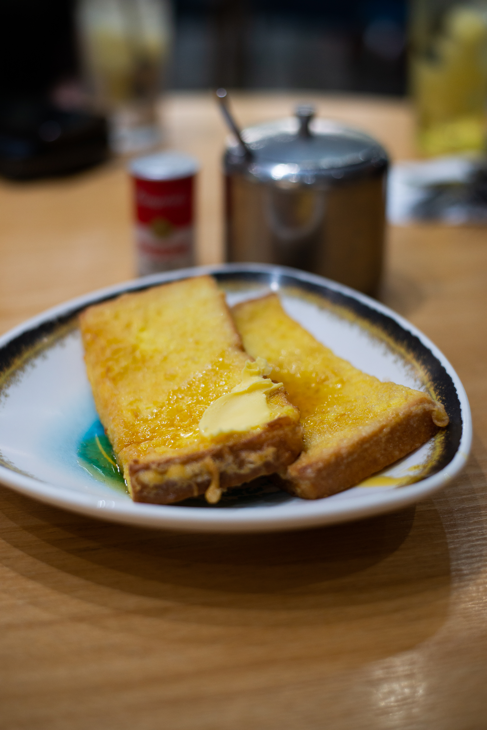 French Toast, local style. Mido Cafe, Hong Kong, June 2019