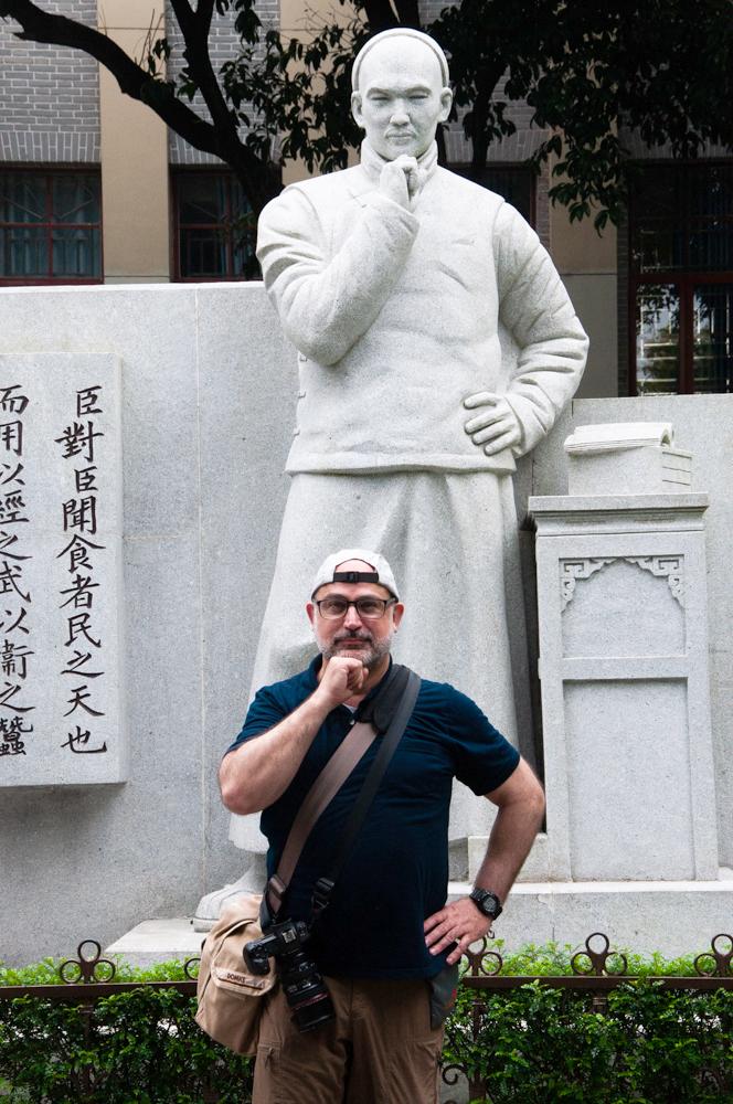 Professor of Photography, Wesley Bernard  Jingyun Chen ©