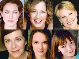 The six Mary Todd Marlowe actresses