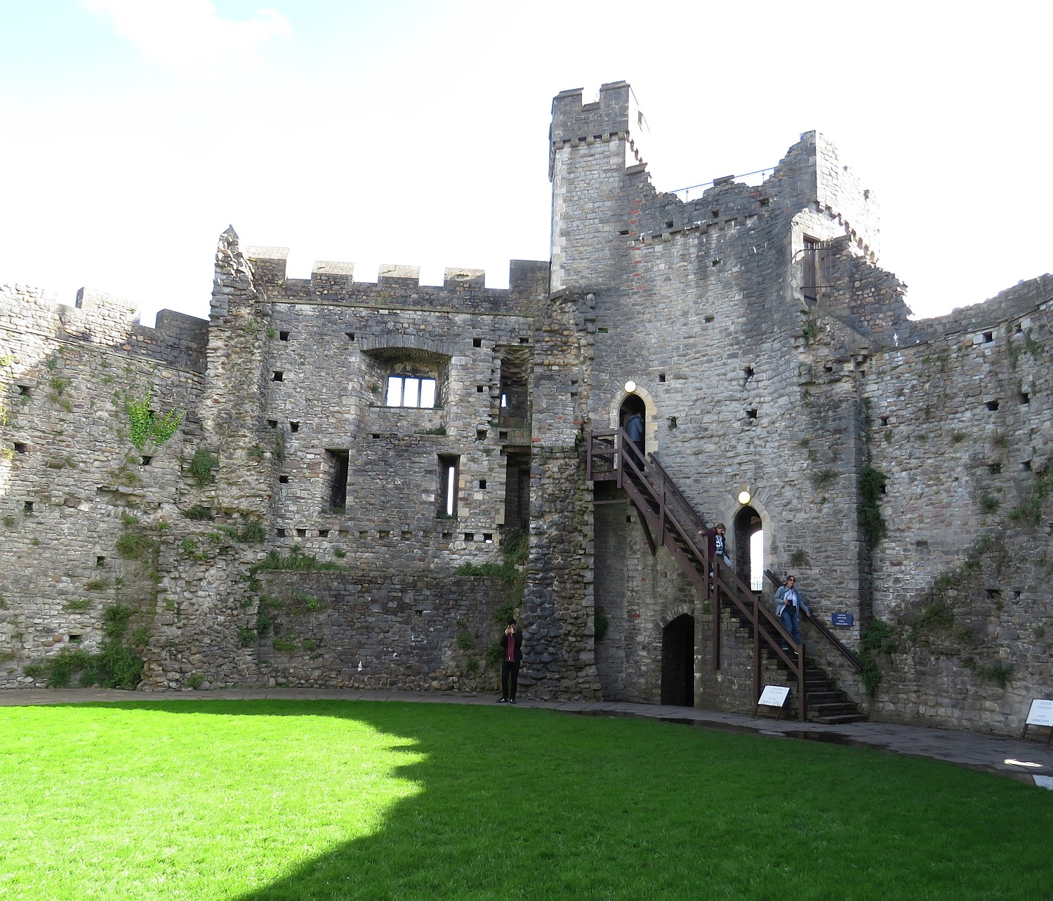 Interior of the Keep