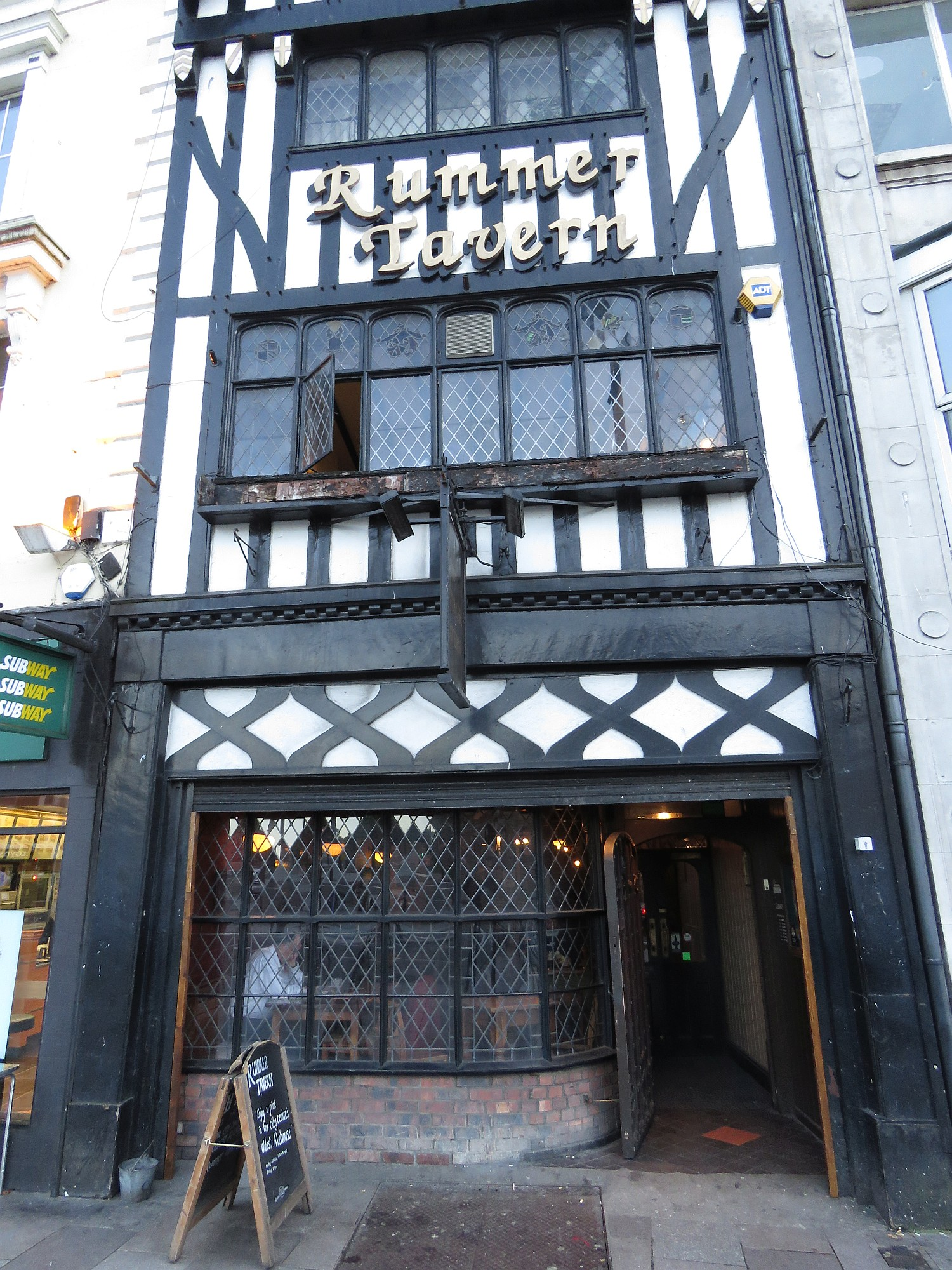 Rummer Pub, meeting place of Polyphony down the Pub