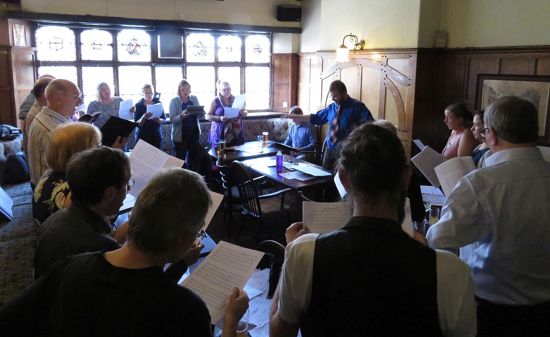 Singers at PDTP