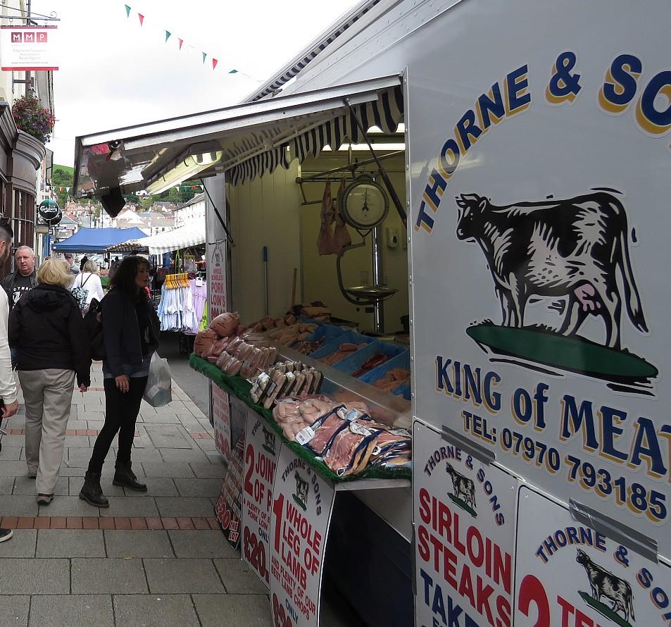 Market day in Newtown