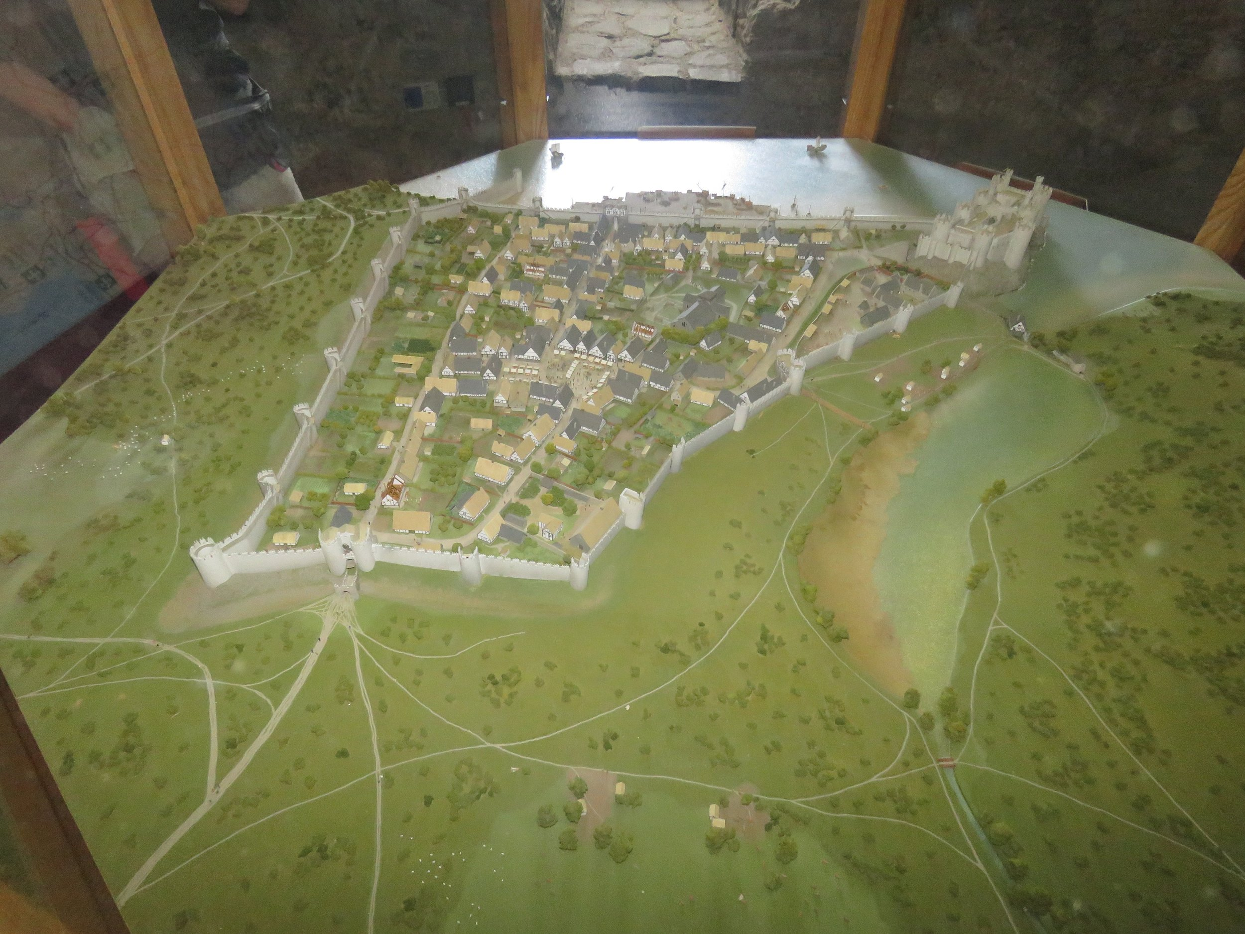 Model of the castle to give you an idea of the layout and scope