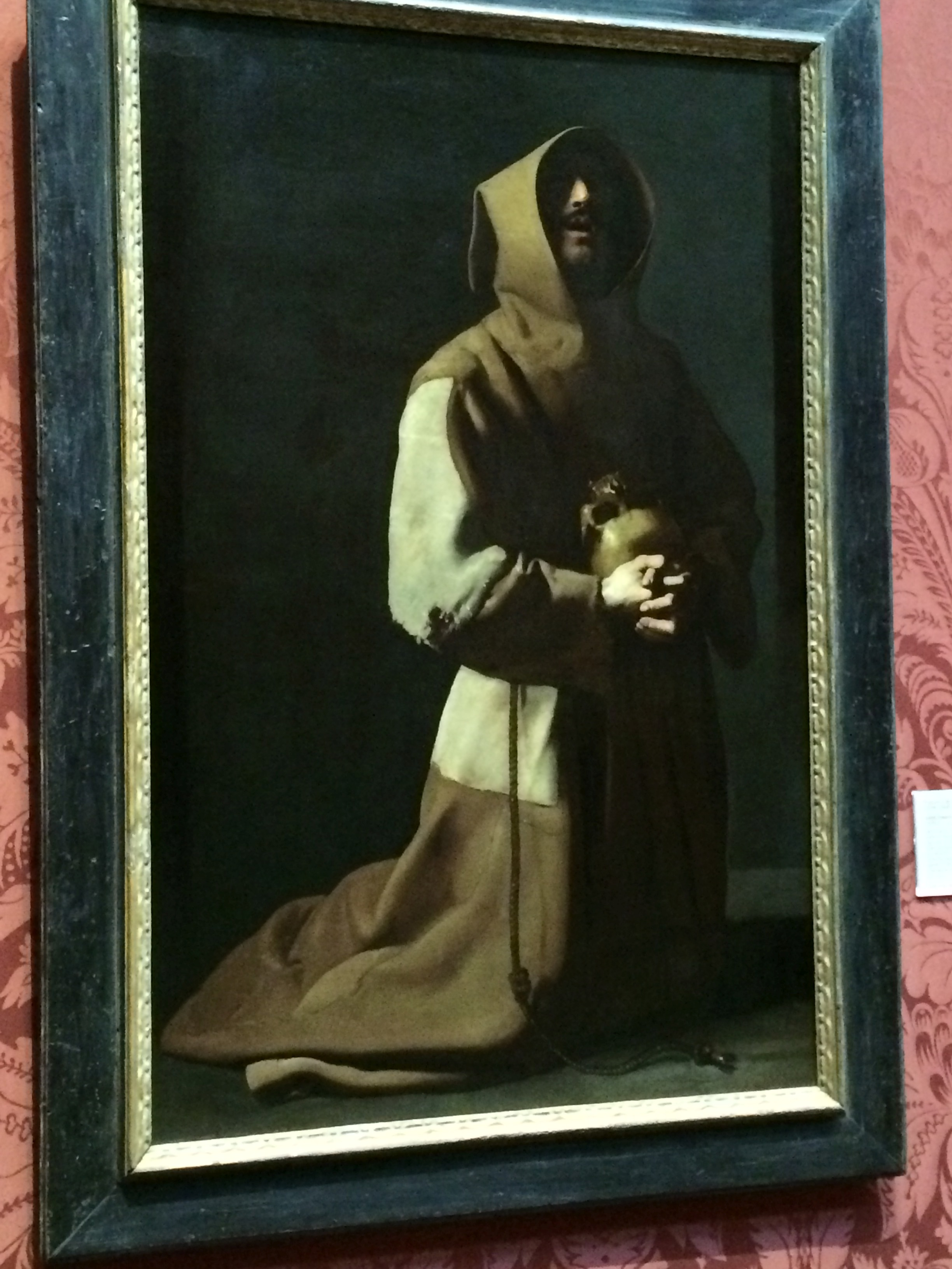 A favorite painter - Zurbran's St. Francis
