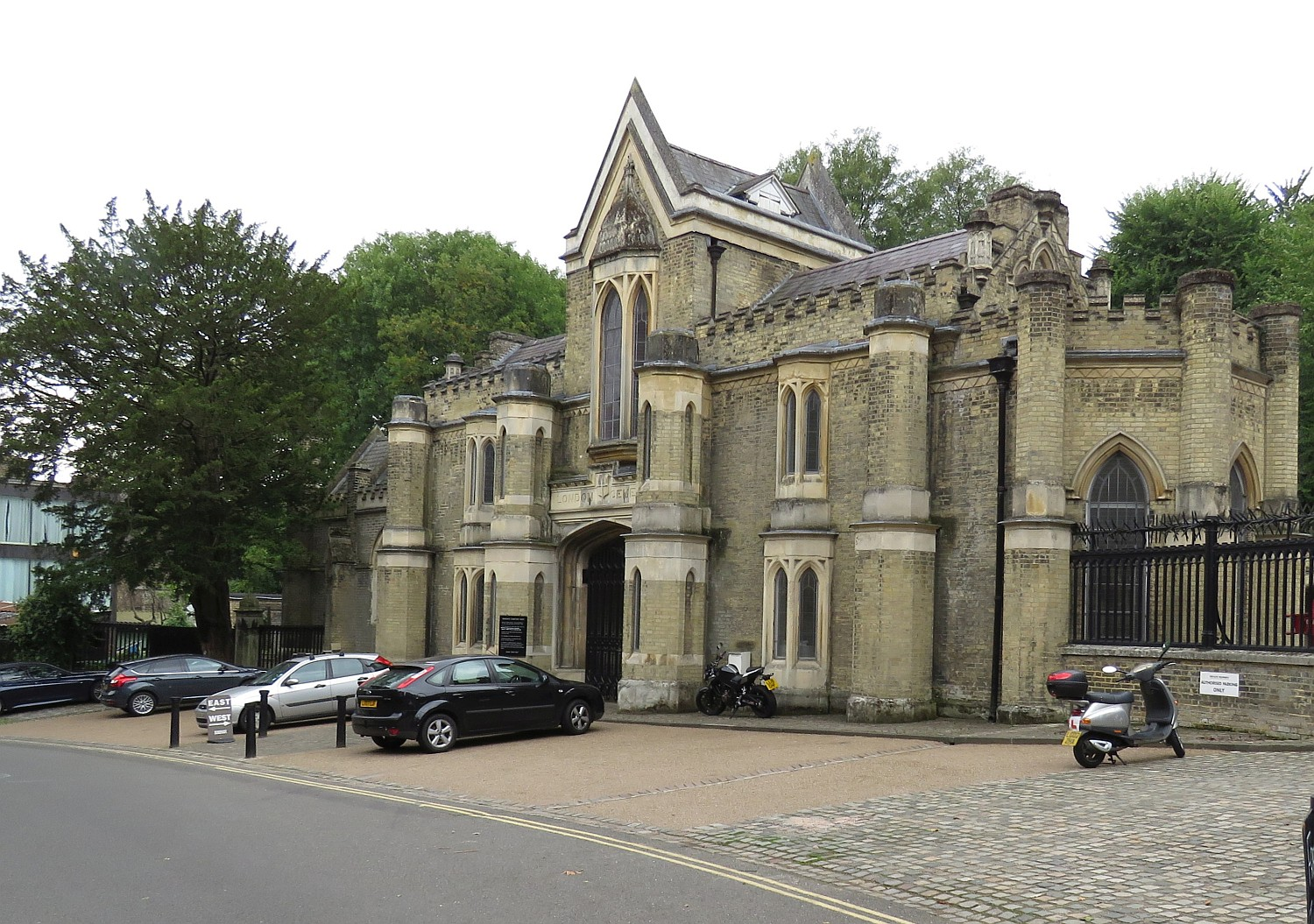 Entrance to Highgate Cemetery