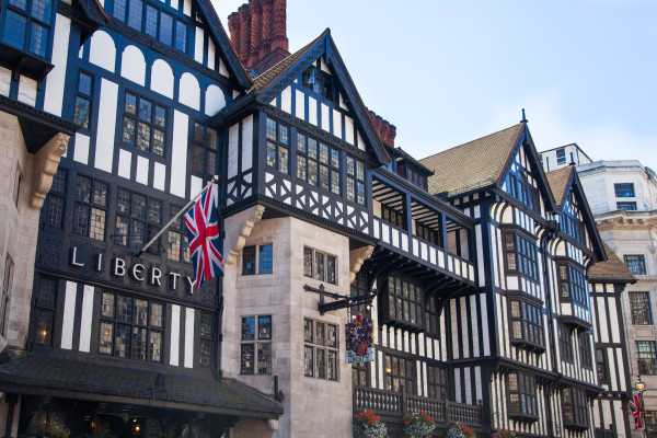 Tudor style at Liberty built in the 1920's - more photos follow the post
