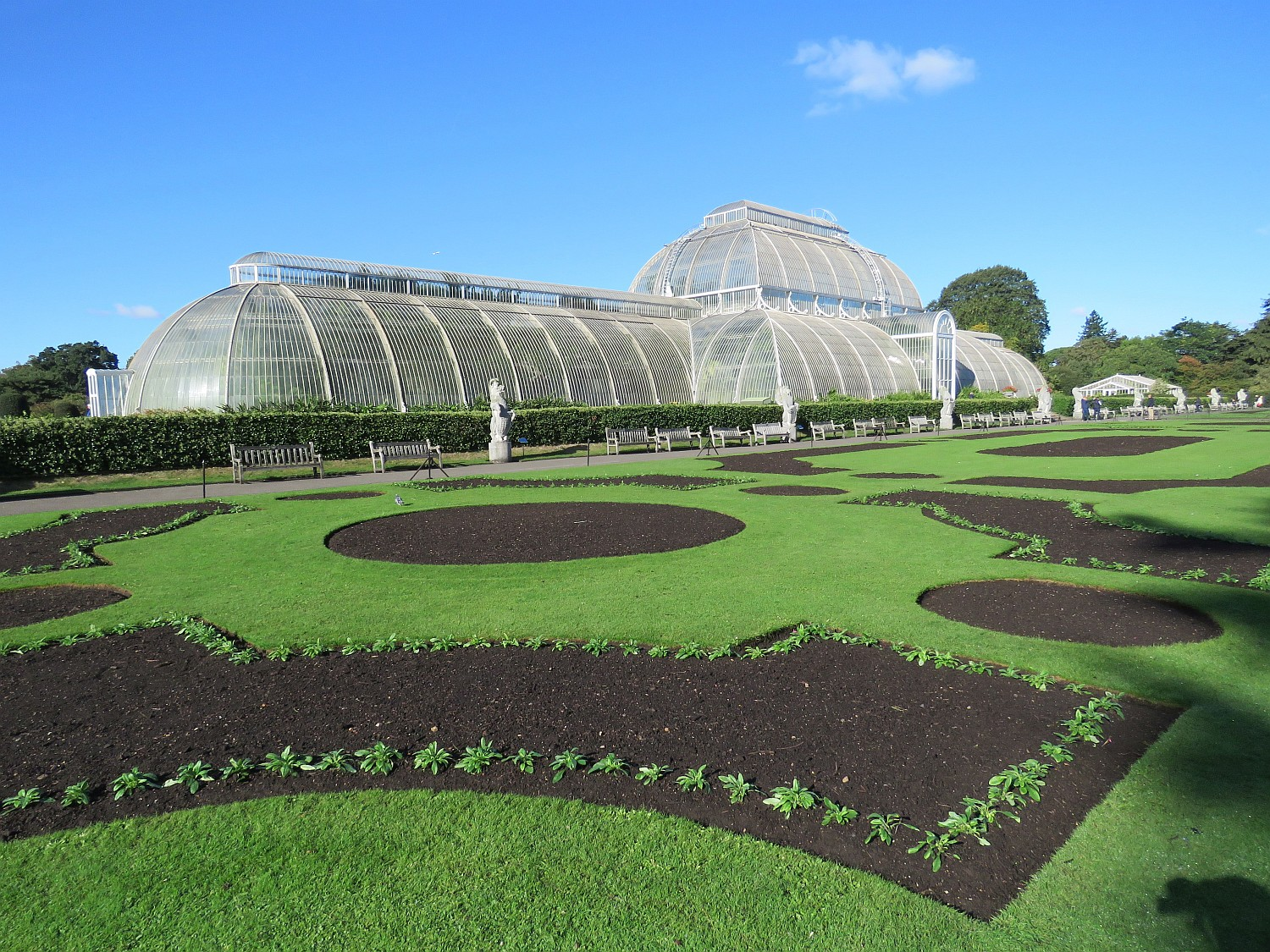 Ed enjoyed Kew Gardens.  I went twenty-five years ago and that will hold me for a lifetime.