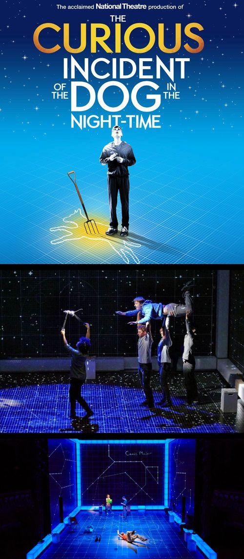 Fabulous staging at The Curious Incident of the Dog in the Night-time
