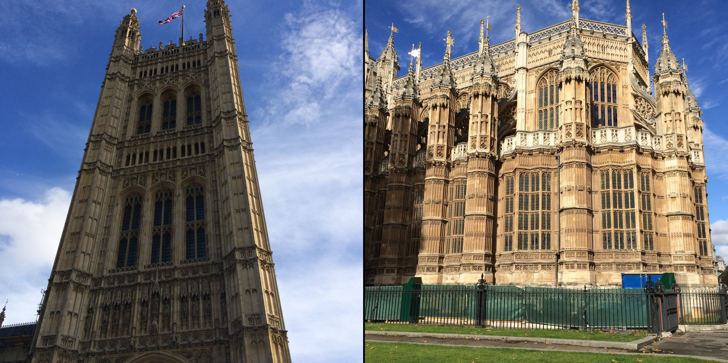 Victoria Tower and Houses of Parliament at Westminster