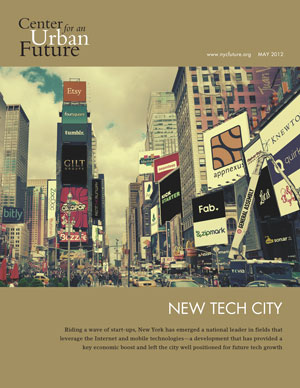 Must read report on NYC's Urban Future.