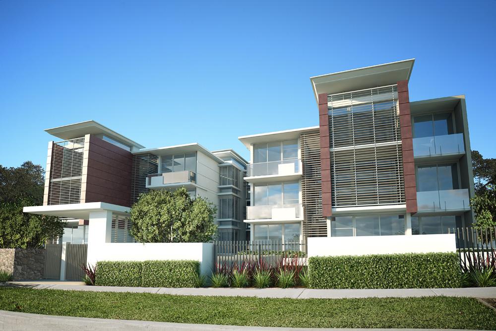 Cronulla, Richmount Street -12 units luxury apartment development consisting of twelve oversized 3 bedroom apartments