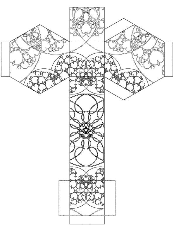 Hexagon jewel box