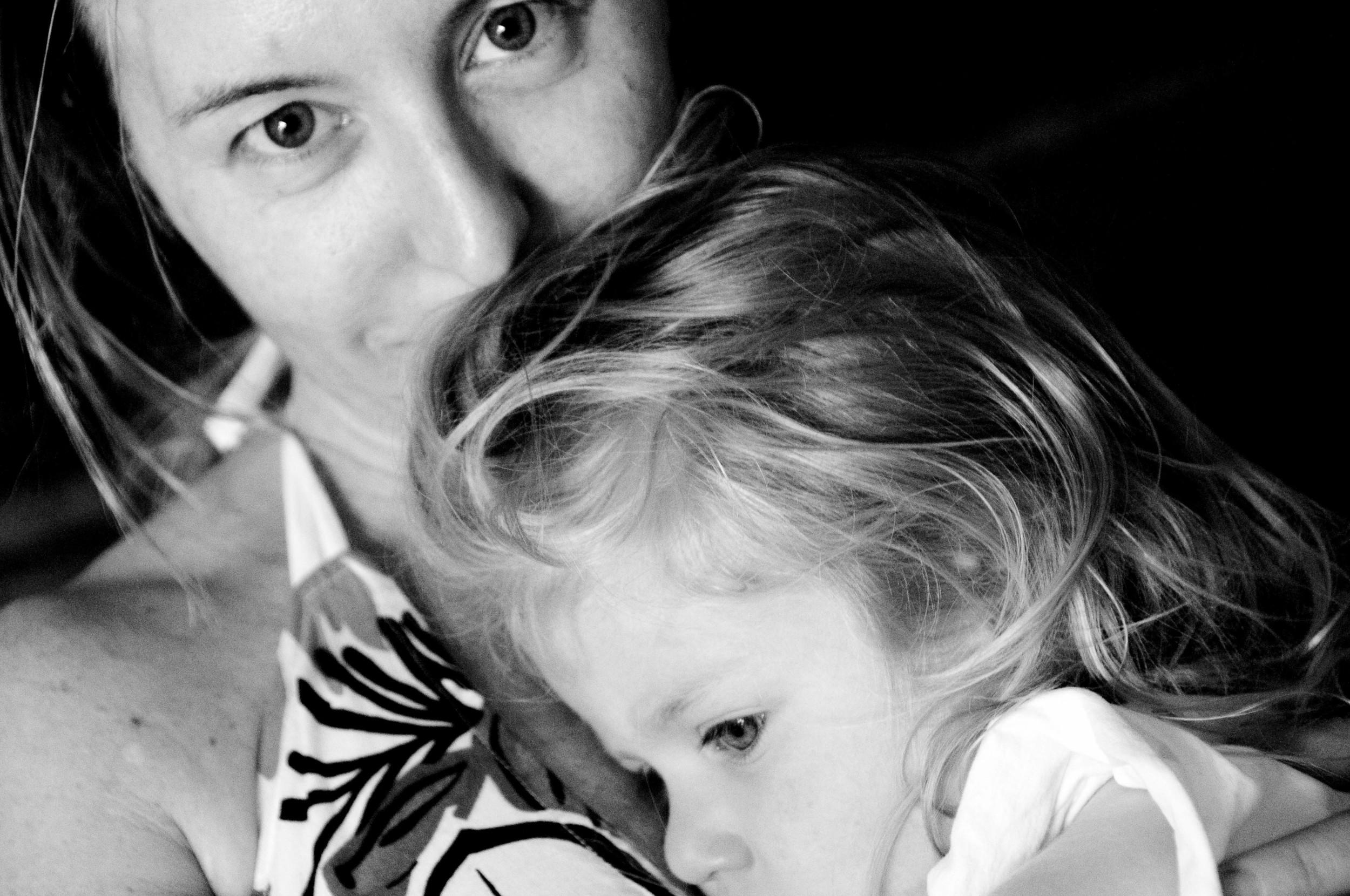 Isa and Mina, July 2010