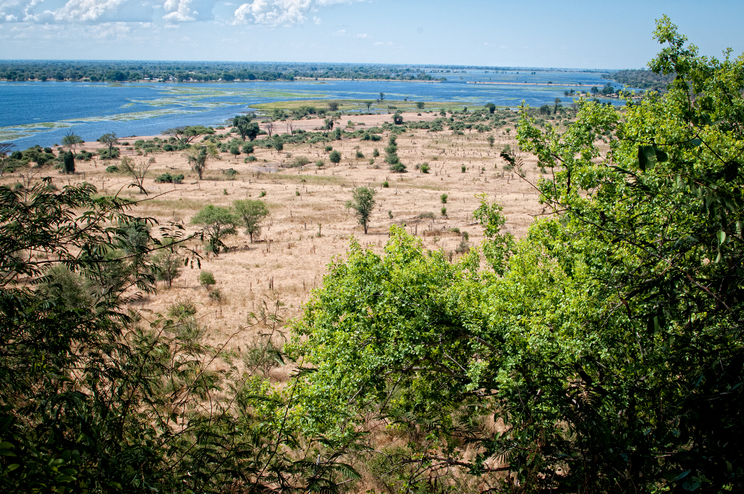 View from Muchenje Lodge, Botswana