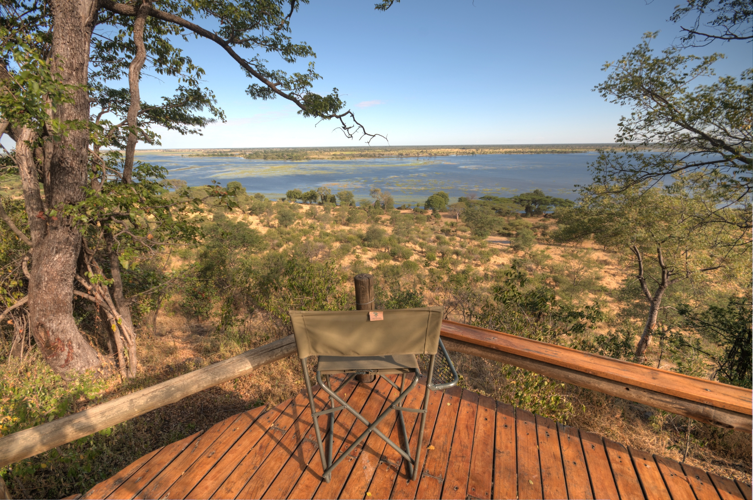 View on the Chobe River