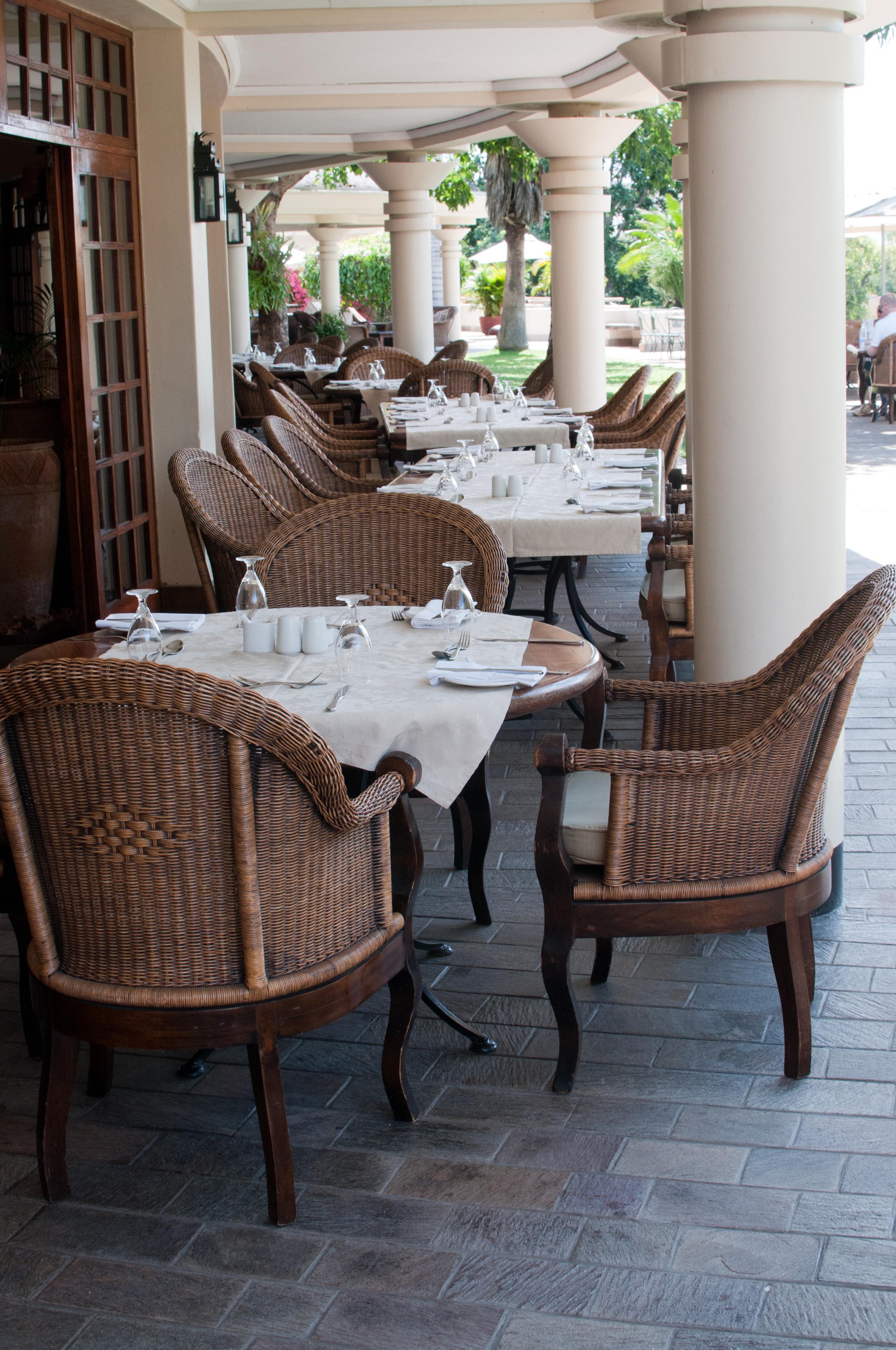 Dining area, Ilala Lodge