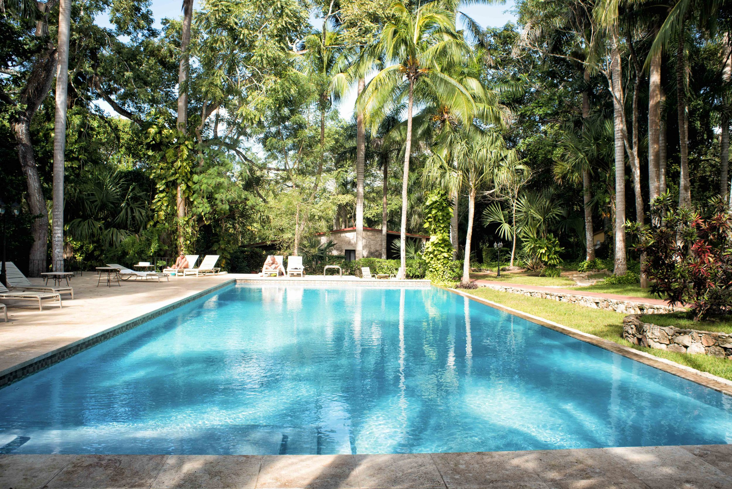 Hacienda Chichen Itza, pool