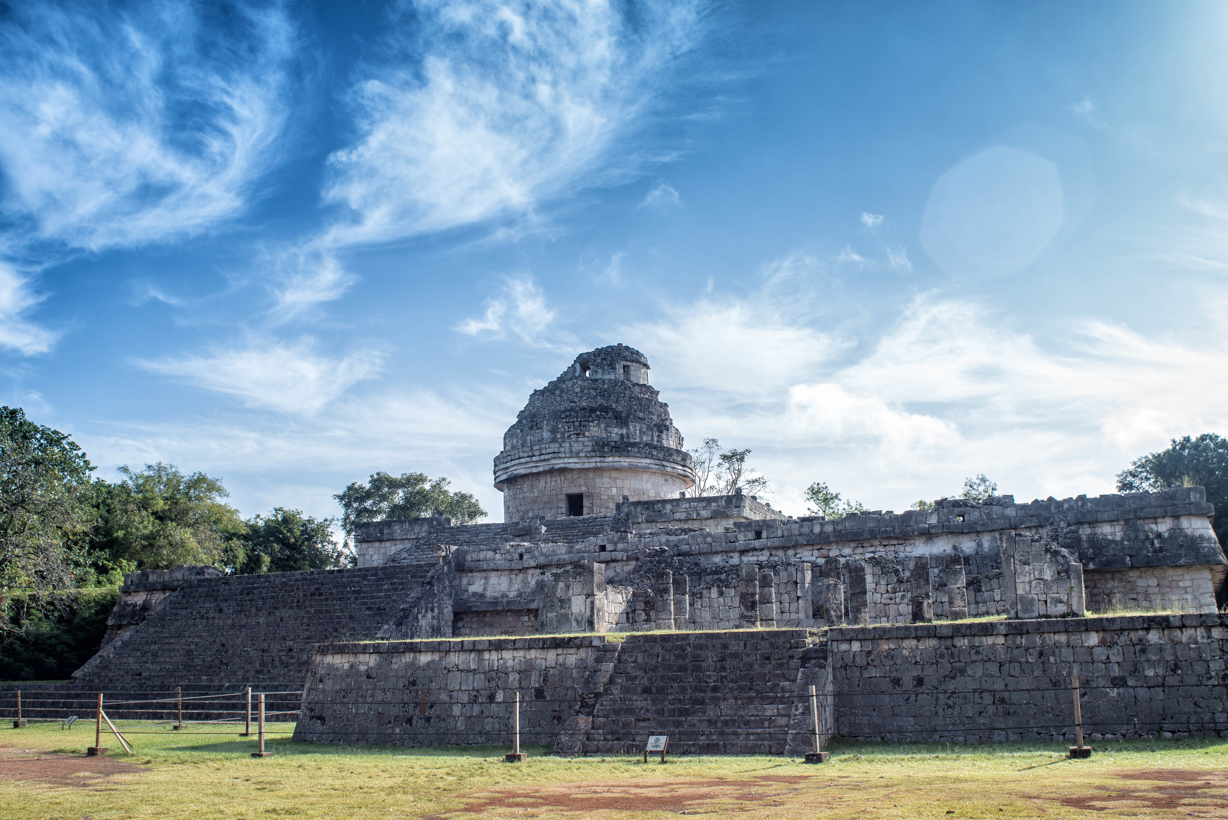 The Observatory, Chichen Itza Archeological Site