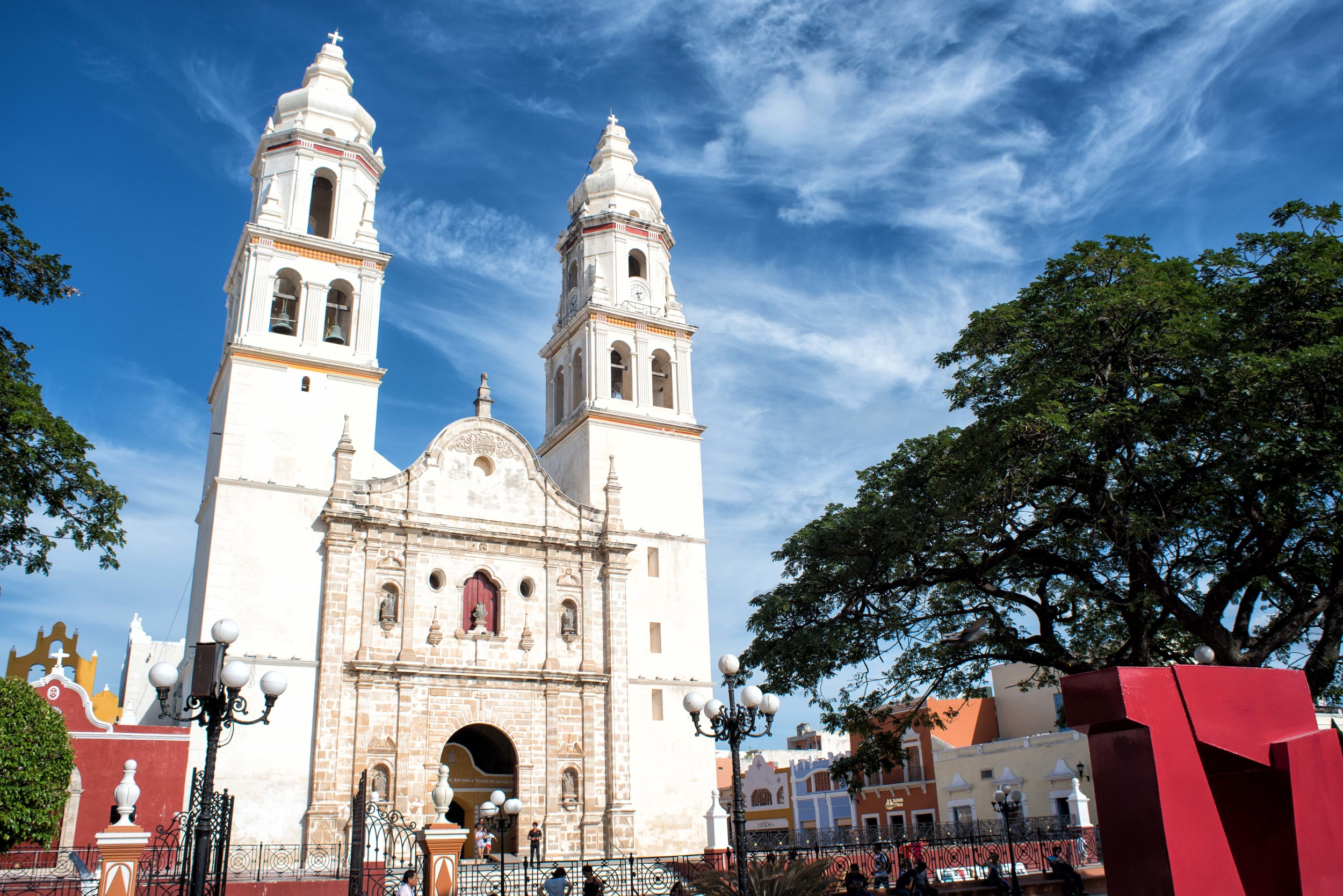 Cathedral in Campeche