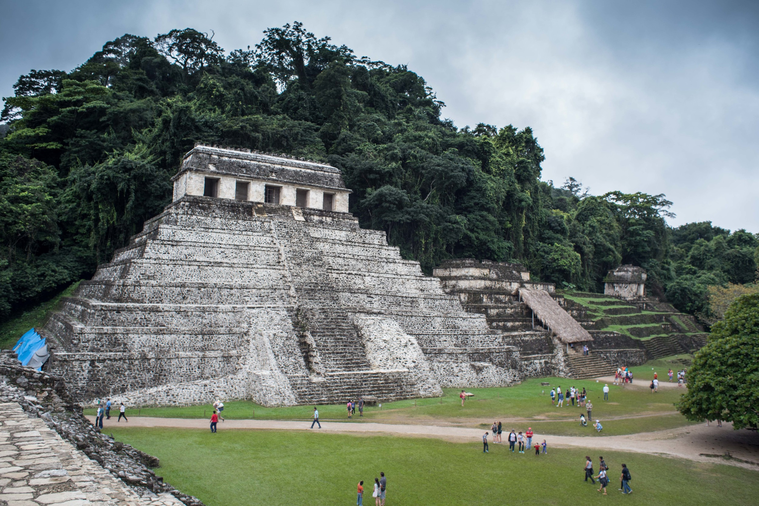 Palenque acrheological site
