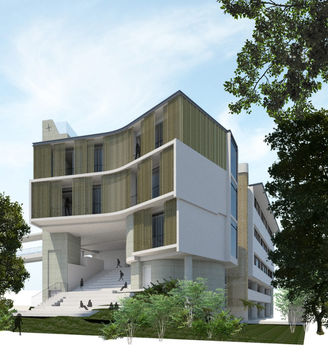 BRIGIDINE COLLEGE - NEW TECHNOLOGY BUILDING