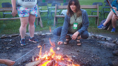 Rita Messer   Rita has volunteered with Camp Quest Ohio since 2013. She has also volunteered at CQ Smoky Mountains and works as a clinical social worker.