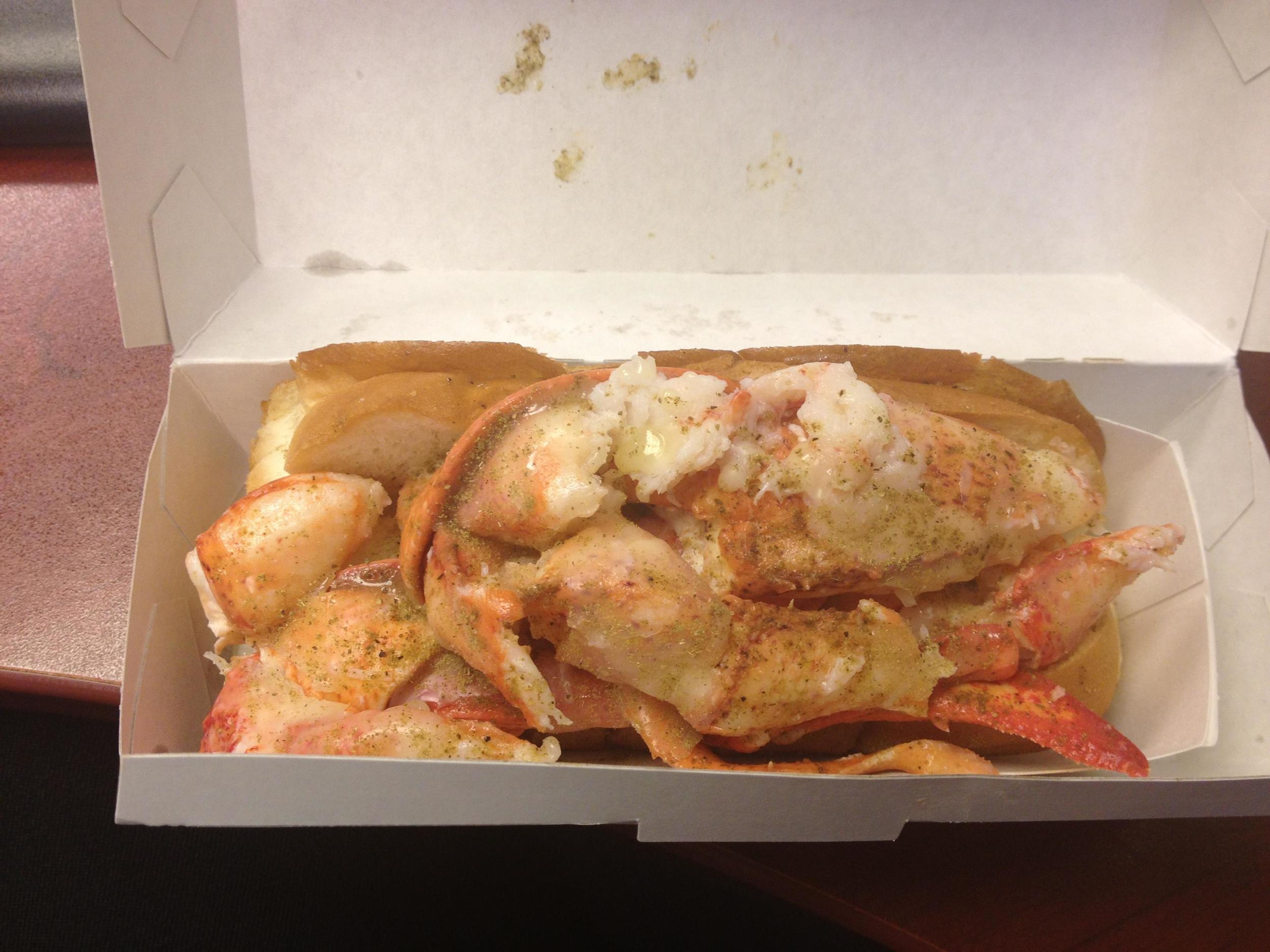 Lobster Roll from Luke's