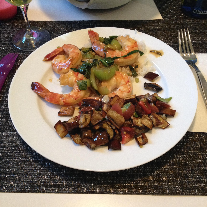 Perfect accompaniment for a shrimp and bok choy stir fry.