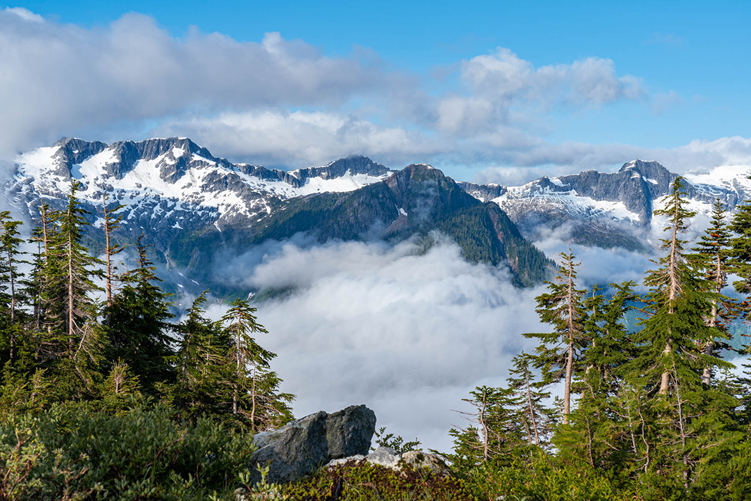 Maybe my favourite photo from the trip! Taken in the Tantalus Range