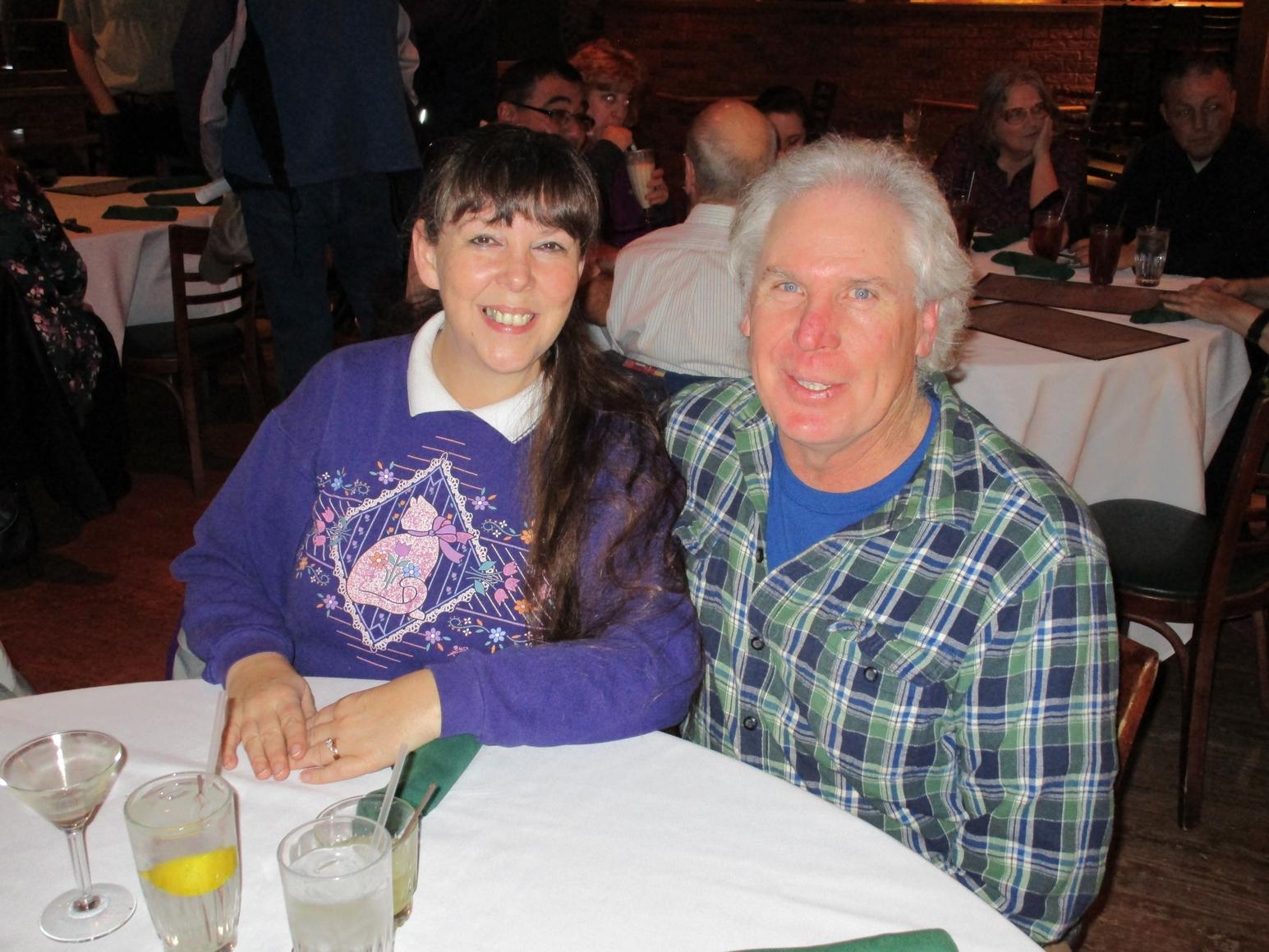 Paula KE5DDZ & husband Danny