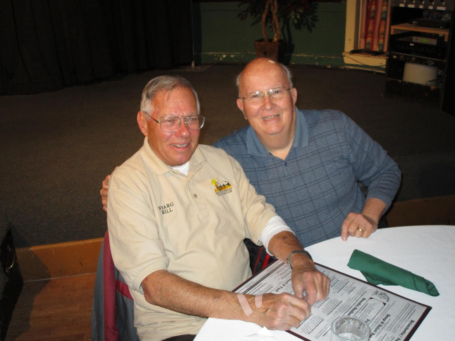 Bill W5ARG & Pete KE5WTM