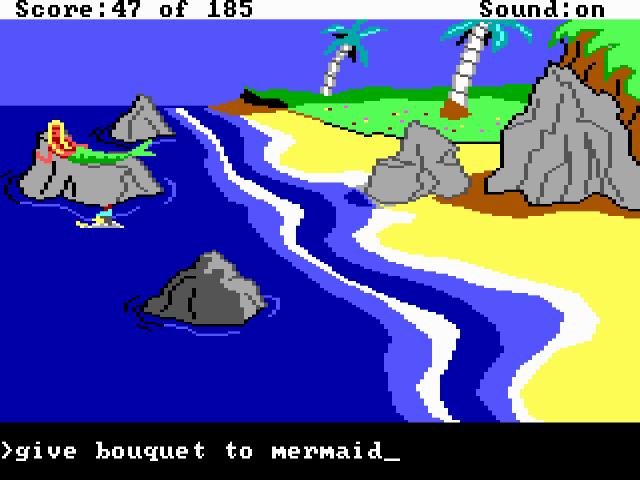 King's Quest II (1985) from Sierra On-Line.