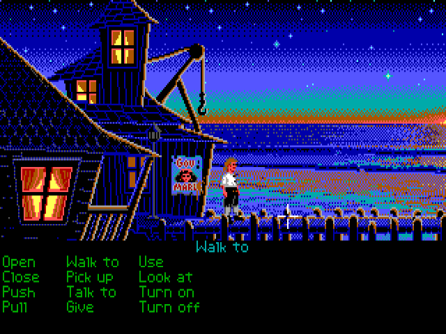 The Secret of Monkey Island  (1990) from Lucasfilm Games.