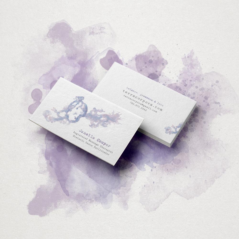 TERRA CORPORAmassage + dance facilitator - Illustration + card design